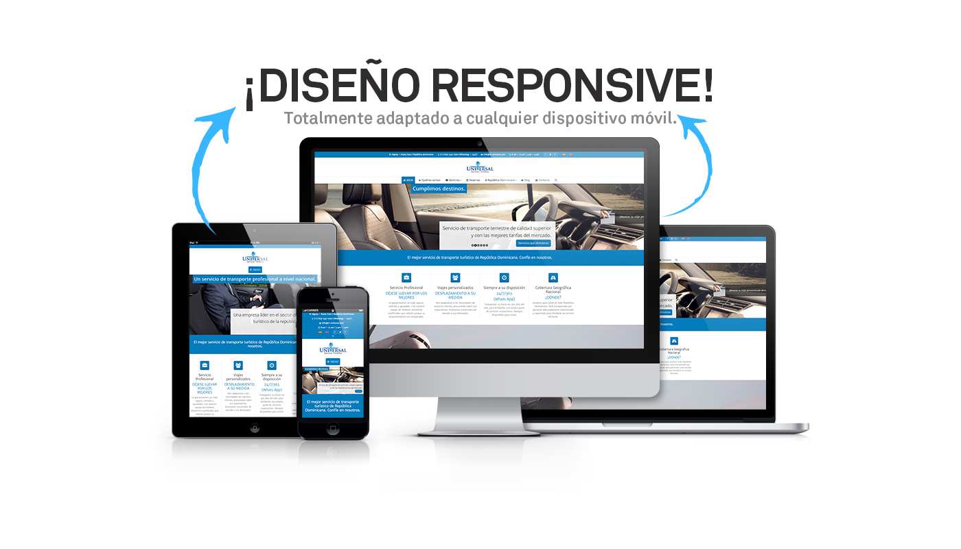 Dise o paginas web en santa marta sitios web responsive for Del website
